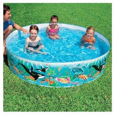 Intex Intex Ocean Coral Reef Snapset Instant Kids Childrens Swimming Pool  58461Ep by Intex Recreation