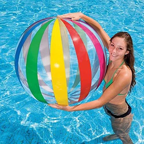 Kids Swimming Pool Aqua Fun Toys Childrens Inflatable Jumbo Beach Ball 1070mm