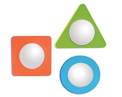 Edushape 3 Piece Magic Mirror Shapes Water Play Set by Edushape