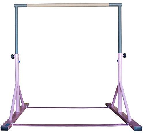 Z-Athletic Gymnastics Expandable Junior Training Bar Pink