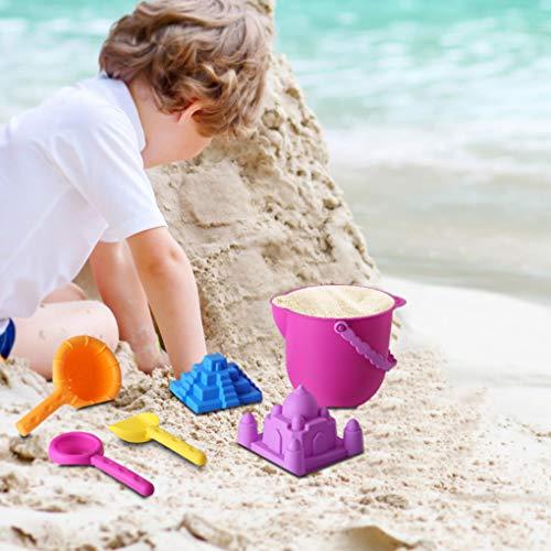 Simplylin 6PCS Kids Beach Toys Set Molds Tools Sandbox Toys On Summer Beach HolidayEducation Toy Baby Toys Games Children