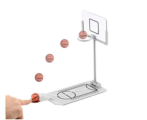 Avtion Basketball Game Mini Desktop Tabletop Portable Travel or Office Game Set for IndoorOutdoor Fun Sports Novelty Toy or Gag Gift Idea
