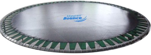 Upper Bounce Trampoline Replacement Jumping Mat fits for 10 FT Round Frames with 56 V-Rings Using 55 Springs -MAT ONLY