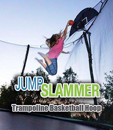 Jump Slammer Trampoline Basketball Hoop