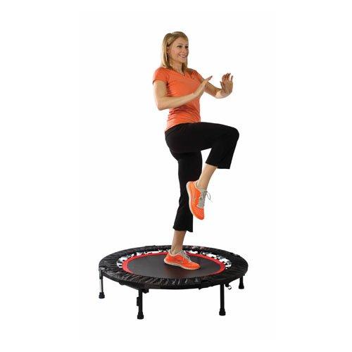 Urban Rebounder Trampoline with Workout DVD Stabilizing Bar