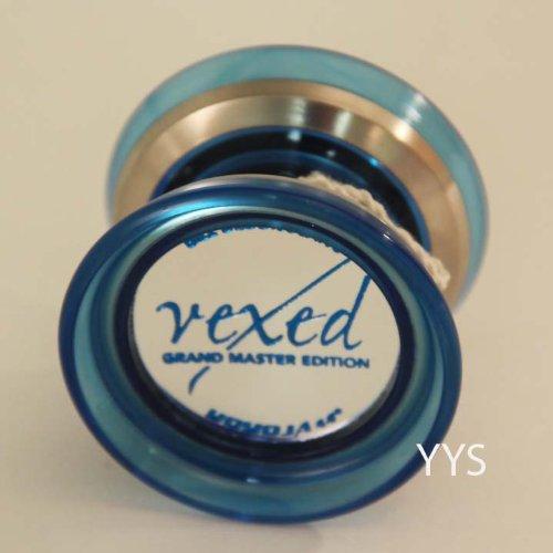 YoYoJam Vexed Yo-Yo - Translucent Blue