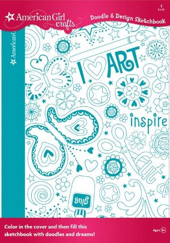American Girl Crafts Doodle Design Sketchbook Art