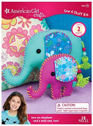 American Girl Crafts Elephants Sew Stuff Kit
