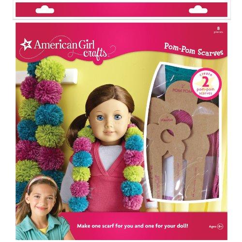 American Girl Crafts Pom Pom Scarves Kit