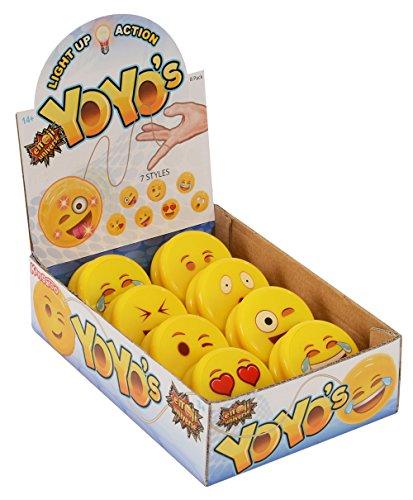 Emoji Universe Emoji Faces Light Up Yo-Yos 8-Pack YoYo Collection