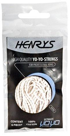 Henrys YoYo Strings - Pack of 6 - WhiteNatural
