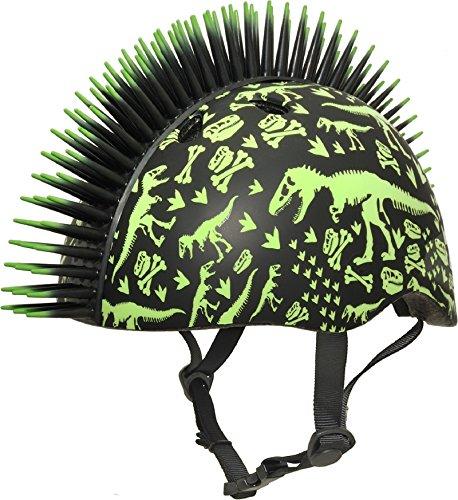 Raskullz Boys T-Rex Bonez Mohawk Helmet