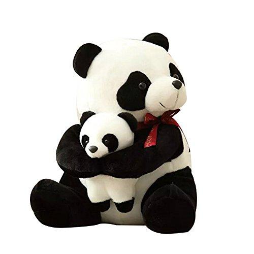 Cute Pandas Plush Stuffed Animals - 10 Teddy Bear with Baby Panda - Kids Toys - Gift