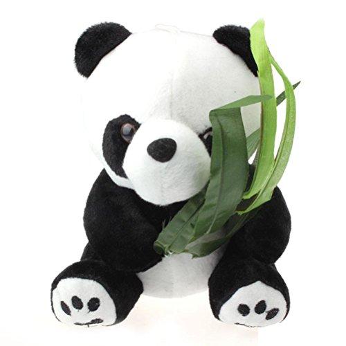 GOTD Panda Teddy Bear Stuffed Animal Pendant 20cm