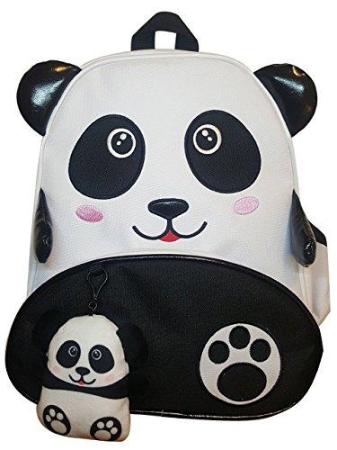 MELLA LEV Baby Kids Panda Teddy Bear include Plush Toy WhiteBlack