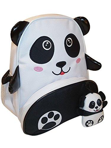 Mella Lev 12 baby Little Kid Toddler and kids Backpack panda teddy bear