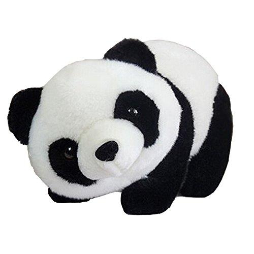 Miraclekoo Panda Teddy Bear Plush Stuffed Soft Toy12 Black and White