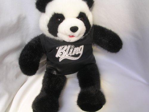 Panda Teddy Bear Bling Plush Toy 15 Collectible