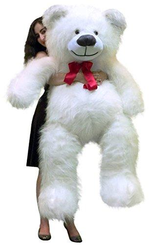 BigPlush Giant Teddy Bear White - 60 Inches