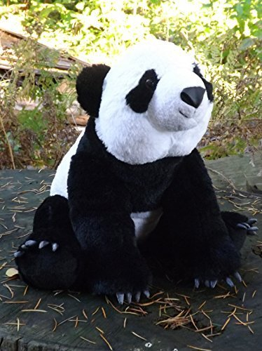 Panda Bear Stuffed Animal - 14 Plush Toy Panda from This Place is a Zoo