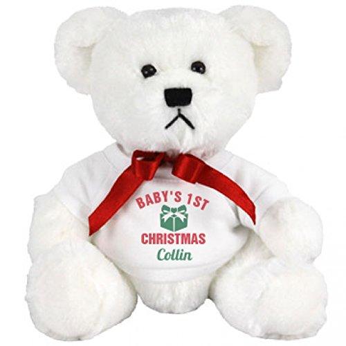 Cute Babys 1st Christmas Gift Collin Small Plush Teddy Bear