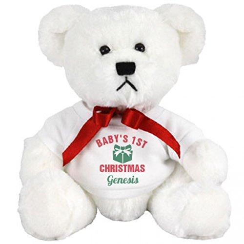 Cute Babys 1st Christmas Gift Genesis Small Plush Teddy Bear