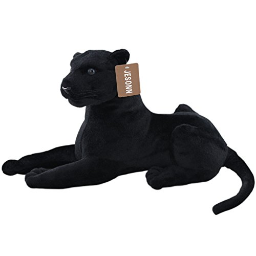 JesonnStuffed Plush Animal Toy LeopardBlack1351PC