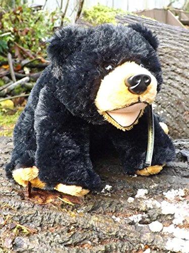 7 Small Stuffed Toy Black Bear - Cute Black Bear Plush Animal Toy