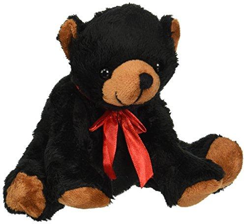 Canned Critters Stuffed Animal Black Bear 6