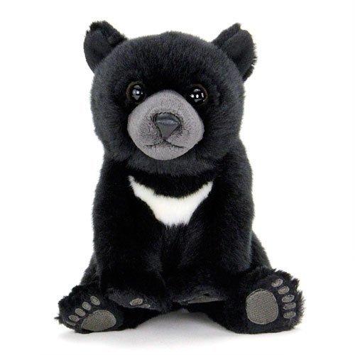 Real stuffed black bear baby