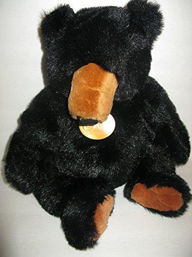 Soft Classic Plush Black Grizzly 17 Stuffed Bear