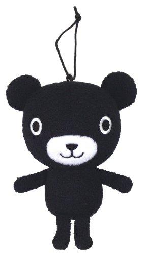 With stuffed black bear-kun always japan import by Kumonshuppan