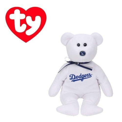 Los Angeles Dodgers MLB Beanie Baby - Teddy Bear by TY 41705