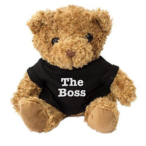 NEW - THE BOSS Teddy Bear - Cute And Cuddly - Gift Present Birthday Xmas Award