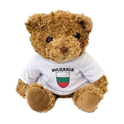 New - Bulgaria Flag - Cute and Cuddly Teddy Bear - Birthday Gift Present Xmas Fan