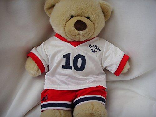 Basketball Sports Boy Teddy Bear 15 Plush Toy  with Doll Clothing