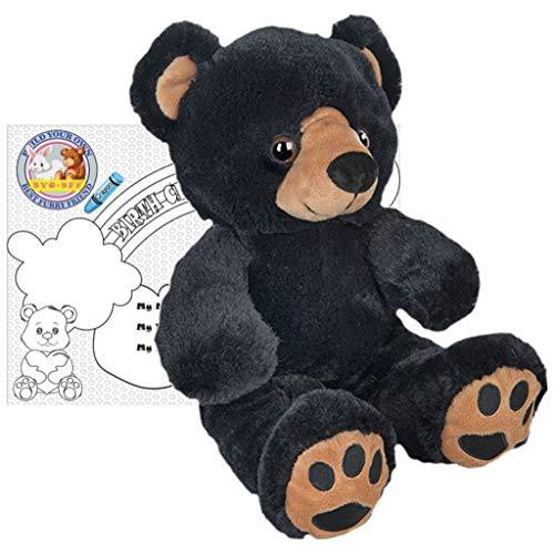 Stuffed Animals Plush Toy - Benjamin The Black Bear 8