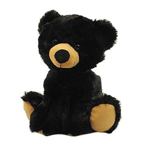 WISHPETS 11 Loveable Black Bear Stuffed Animal Plush Toys