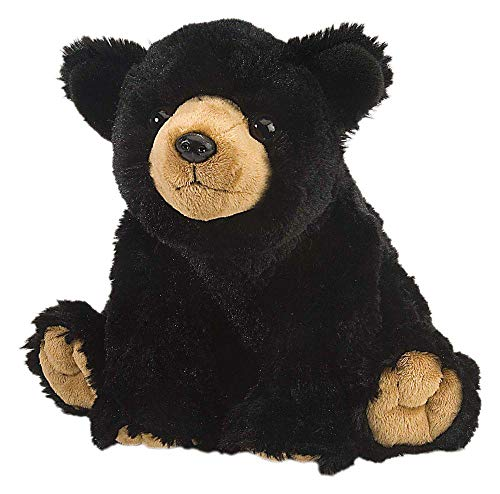 Wild Republic Black Bear Plush Stuffed Animal Plush Toy Gifts for Kids Cuddlekins 12 Inches