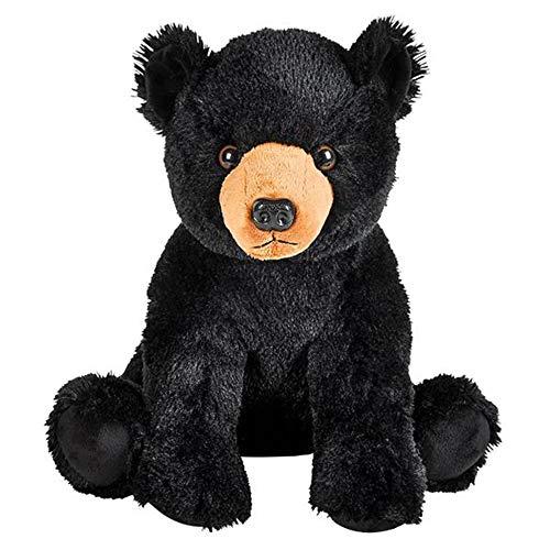 Wildlife Tree Huge 14 Inch Stuffed Animal Black Bear Zoo Animal Plush Domain Collection