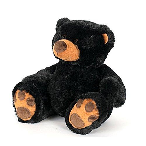 Wishpets Stuffed Animal - Soft Plush Toy for Kids - 11 Sitting Pawee Black Bear
