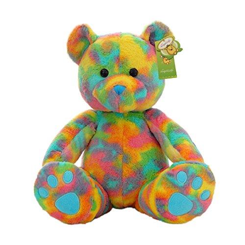 Cuddly Cute Rainbow Bear Toys Teddy Bear Doll 10 Soft Baby Stuffed Animal Toy Valentines Day Birthday Xmas Christmas Wedding Anniversary Presents Gifts