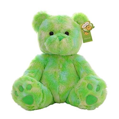 Cuddly Cute Rainbow Green Bear Toys Teddy Bear Doll 10 Soft Baby Stuffed Animal Toy Valentines Day Birthday Xmas Christmas Wedding Anniversary Presents Gifts