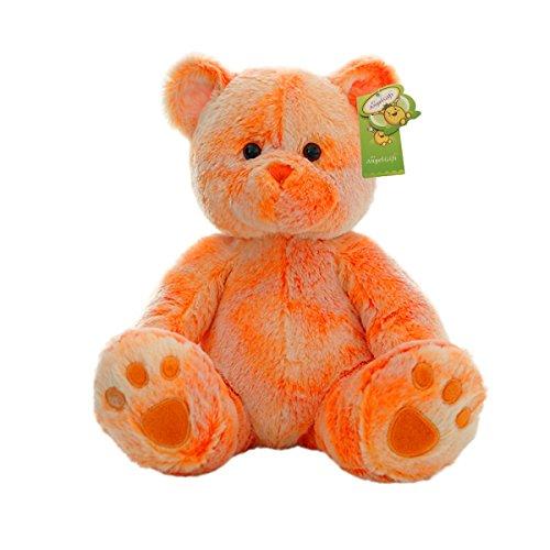 Cuddly Cute Rainbow Orange Bear Toys Teddy Bear Doll 10 Soft Baby Stuffed Animal Toy Valentines Day Birthday Xmas Christmas Wedding Anniversary Presents Gifts