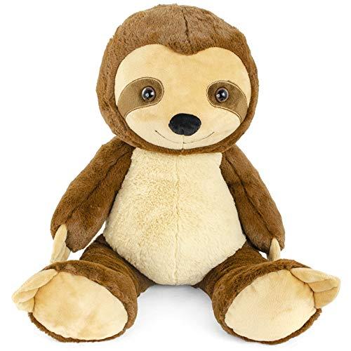 GIFTABLE WORLD Super Soft Plush Sloth Stuffed Animal Toy Adorable Slowpoke of The Jungle 15 Inch Three Toed Sloth