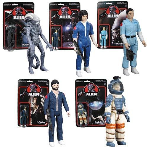 Alien 3 34-Inch ReAction Figures Set