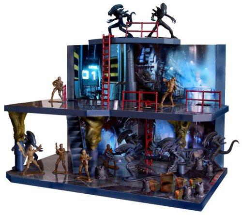 Collectible Mini Figures Aliens Deluxe Playset