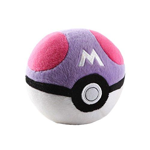 T-Queen Pokemon Go Pokeball 5 Master Ball Stuffed Plush