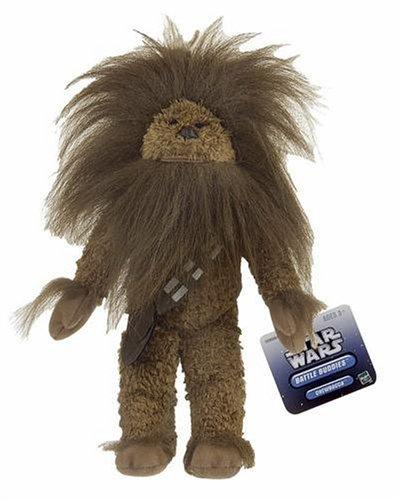 Star Wars Plush Chewbacca with Long Hair Battle Buddies Figure