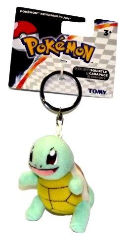 Pokemon 375in Plush Keychain Squirtle